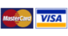 Payment via Visa and Mastercard