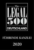 Legal 500 Deutschland 2020 – Top 2 im Nonprofit-Sektor