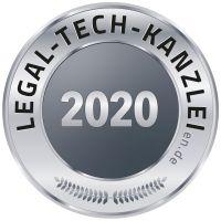 Auszeichnung Legal-Tech-Kanzlei