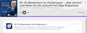 Blockchain-Podcast mit Olga Stepanova