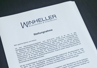 WINHELLER publicly speaks out to German authority BaFin